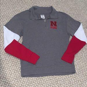 Nebraska half zip